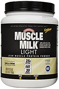 buy cytosport muscle milk light vanilla creme pound online at. Black Bedroom Furniture Sets. Home Design Ideas