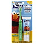 Orajel Baby Tooth & Gum Cleanser, Sesame Street, Bright Banana Apple, 1 oz (28.3 g)