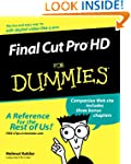 Final Cut Pro HD For Dummies w/WS