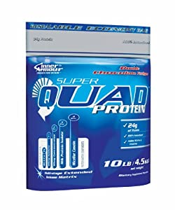 Inner Armour Super Quad 4500 g Strawberry Whey Protein Shake Powder