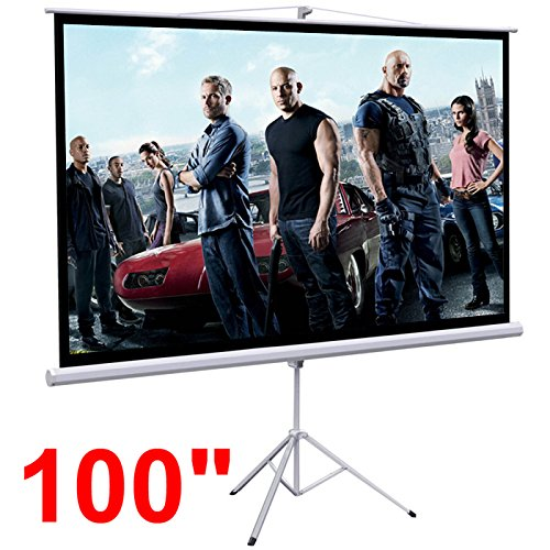 "Gotobuy Portable 100"" Projector Photo"