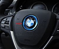 Decorative Steering Wheel Logo Trim For Bmw X1 X3 X4 X5 X6 Z3 Z4 I3 I8 Z8 E63 E64 F20 F21 F25 E81 E84 E85 E86 E89 E34 E38 F10 F11 F30 F31 F10 E87 E88 E82 E36 E46 E90 E91 E92 E93 E39 E30 E32 E60 E61 E65 E66 F01 F02 M3 M4 M5 M6 F06 F07 Red by JPCARBON