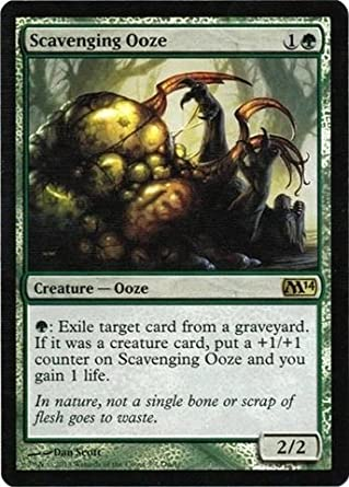 Alternate Art Scavenging Ooze Foil