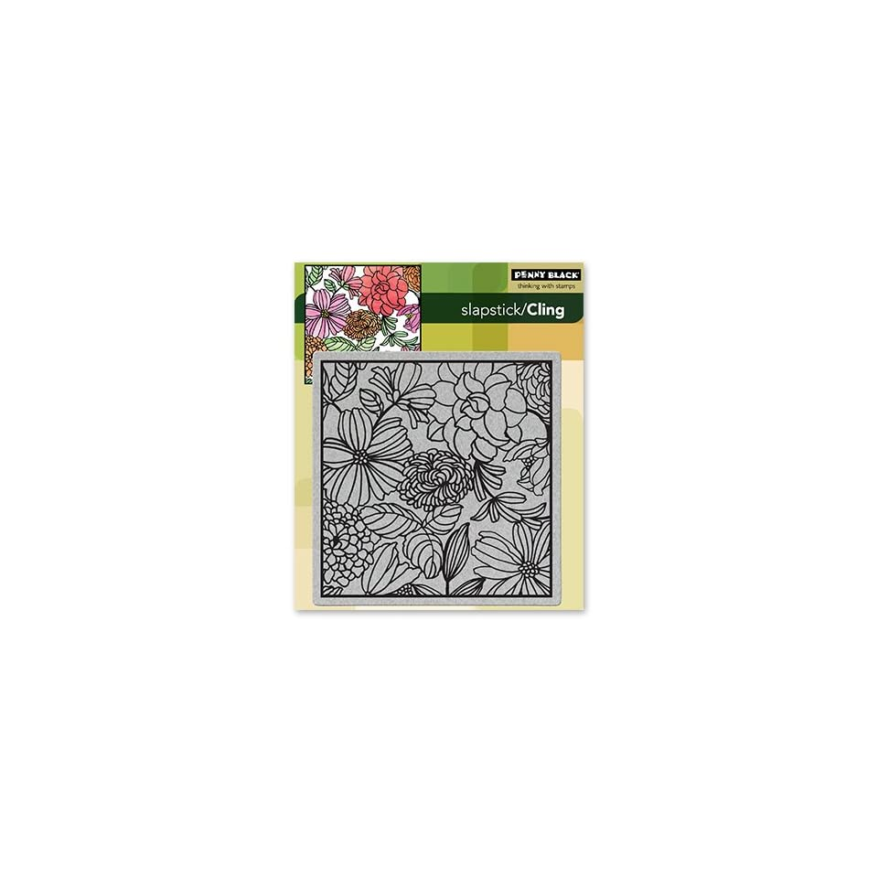 Penny Black 40 101 Cling Rubber Stamp, Mosaic