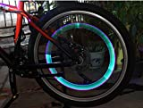 MOON GAZER 10 Pcs Car Bike Bicycle Motorcycle Sensor Tyre Tire Wheel Led Light Lamp Colorful Motorcycle Spoke Wheel Lights/Bicycle Spoke Led Lights/Led Spoke Light/ Tyre Valve Dust Cap Safety Light