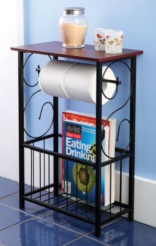 Cheapest Prices! Gramercy Bathroom Toilet Paper Holder & Storage Organizer
