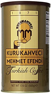 Kurukahveci Mehmet Efendi Turkish Coffee by Kurukahveci
