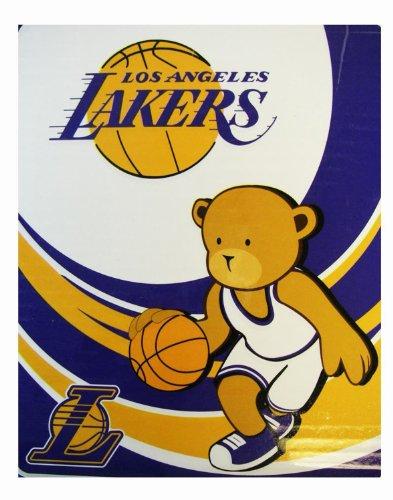 Lakers Baby Blanket