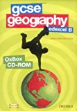 GCSE Geography Edexcel B Assessment, Resources, and Planning OxBox CD-ROM (0199134871) by Digby, Bob