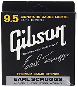 Gibson Earl Scruggs Signature Banjo Strings, Light