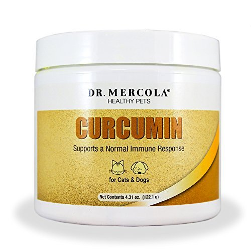 Dr-Mercola-Curcumin-For-Pets-With-Microactive-Curcumin-From-Turmeric-Immune-System-Booster-for-Dogs-Cats-Premium-Pet-Supplements