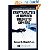 Cryptanalysis of Number Theoretic Ciphers (Computational Mathematics)