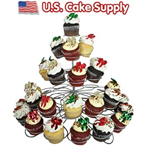 41-Count Light-weight 5-Tier Metal Dessert and Cupcake Stand