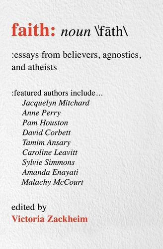 essays about faith Essays on faith, truth, and freedom  grappling with the interaction of christian  faith and modern culture, carrón treats in very real and concrete ways what is.
