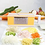 Fanko Multi-Box Spiral Slicer 5 In 1 Slicer Vegetable Slicer 5 In 1 Boxed Grater With Vegetable Storage Space