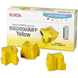 Xerox 108R00725 Solid Ink Phaser 8560/8560MFP, Yellow (3 Sticks) Sealed Xerox Box