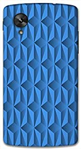 Timpax Light Weight One-piece construction Hard Back Case Cover Printed Design : Colorful Pattern.For Google Nexus-5