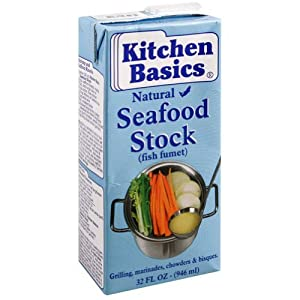 Amazon.com : Kitchen Basics Seafood Stock, 32-Ounce (Pack of 6 ...