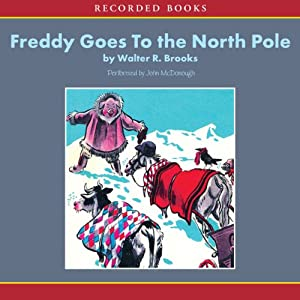 Freddy Goes to the North Pole Audiobook