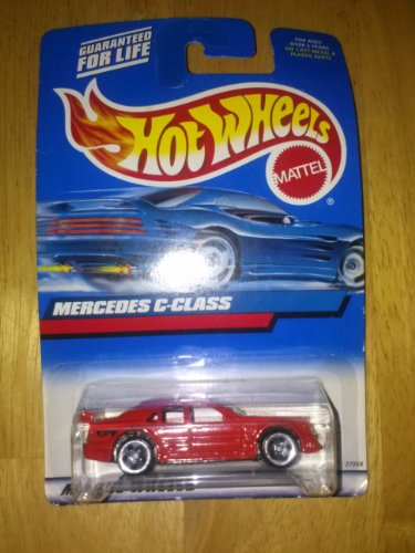 Hot Wheels 2000-131 Mercedes C-class 1:64 Scale - 1