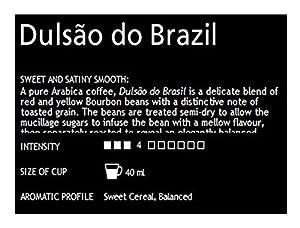 Choose 50 x Nespresso Dulsão do Brasil Coffee Capsules for Nespresso machines NEW from Nespresso