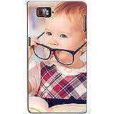 Bluethroat Cute Baby Girl Wearing Specks Back Case Cover For Lenovo Vibe Z2 Pro :: Lenovo K920 :: Lenovo Vibe Z2 Pro K920