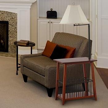 208 Fryar Design LTD Berkley Magazine Rack Lamp