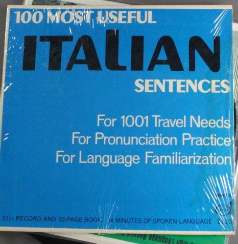 100 Most Useful Italian Sentences
