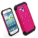Ezydigital CBCarryberry Rhinestone Bling Impact Dual Layer Shock Proof Case For Samsung Galaxy Ace 2 II-X GT-S7560M... by CBCarryberry