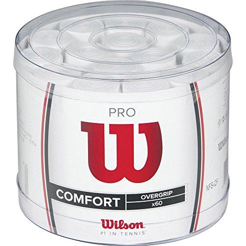 Wilson Overgrip Pro 60er, weiß, WRZ477800WH