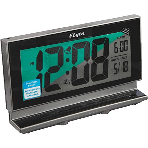 Elgin 2-Inch LCD Multifunction Alarm with Smartlite