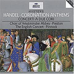 Archiv Masters - H舅del (Coronation Anthems / Concerti)