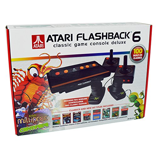 Classic videogame console game original release prices - Atari flashback classic game console game list ...