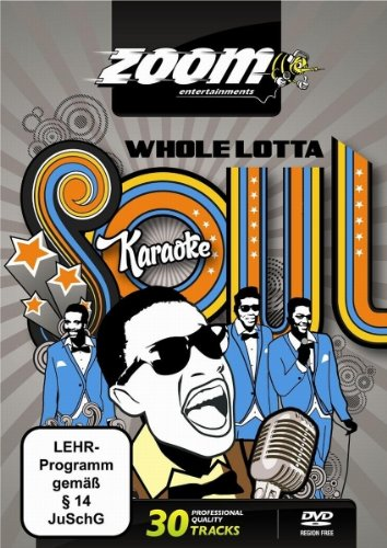 Zoom Karaoke DVD - Whole Lotta Soul (Male Songs) - 30 Songs