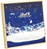 Lindt - Tischkalender zum Aufstellen Pralinen Schokolade Adventskalender - 115g
