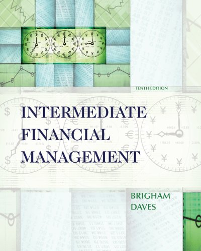 Intermediate Financial Management ( Thomson ONE