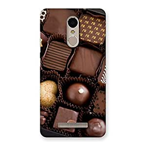 Delighted Sweet Choco Pack Multicolor Back Case Cover for Xiaomi Redmi Note 3