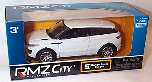 rmz-city-collection-white-land-rover-range-rover-evoque-car-132-136-scale-diecast-model