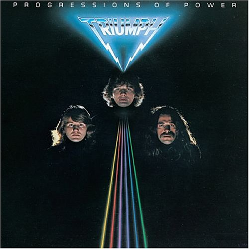 Original album cover of Progressions of Power by Triumph