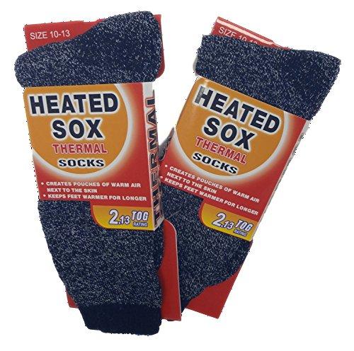 2-Pack-Best-Adult-Unisex-Mega-Thermal-Heat-Holding-TOG-213-Winter-Socks-Ladies-Men-Women