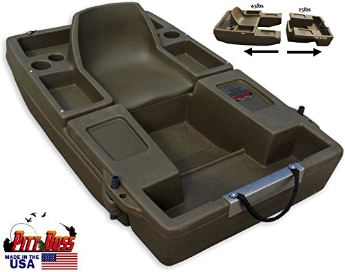 The Pitt Boss. 3 Boats-In-One. Trolling Boat, Row Bow, Pontoon Kick Boat (Row Boat Motor compare prices)