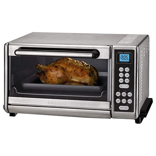 Cuisinart CTO-140PCFR Toaster Oven Broiler with Convection, Stainless Steel (Certified Refurbished) (Broiler Convection Oven compare prices)