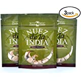 Nuez de la India (3 packs of 12 Seeds/Semillas)- Authentic, Pure, Safe & Imported Fresh from the Amazon - Inspected & Packaged in an FDA Registered Facility - The Most Effective Nuez de la India on the Market