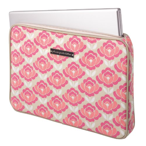 Petunia Pickle Bottom Carried Away Laptop Case in Flowering in Firenze