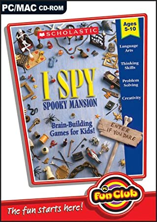 PC Fun Club: I SPY Spooky Mansion (PC CD)