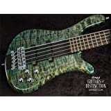 Warwick Custom Shop Streamer Stage I 5-String Bass Guitar Tropical Green Transparent (SN:16246317)
