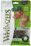 Paragon Whimzees Alligator Dental Treat for Large Dogs, 7 Per Bag
