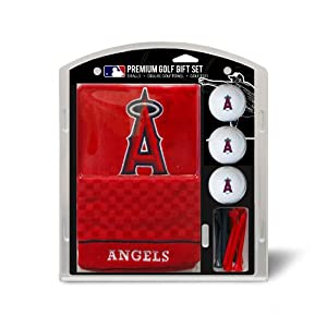 MLB Los Angeles Angels Embroidered Towel Gift Set, Navy by Team Golf