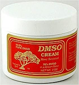 DMSO Cream Rose Scented -- 4 oz