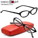 【トミーガール メガネ】tommy girl メガネフレーム TH-5040JA-1
